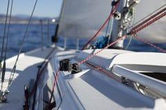 Веревочка и ветрило Стоковое Фото