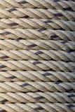 Веревочка катушки крупного плана текстуры Стоковые Изображения RF