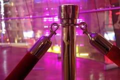 Веревочка Красно-бархата стоковое изображение rf