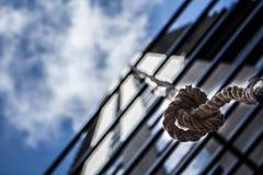 Веревочка к верхней части Стоковая Фотография