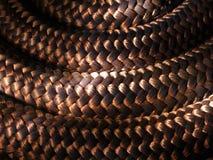 Веревочка макроса Стоковая Фотография RF