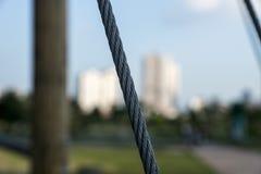 Веревочка металла стоковая фотография rf