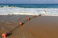 Веревочка морем стоковое фото