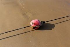 Веревочка морем стоковое изображение
