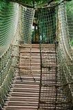 веревочка моста крепкая Стоковые Изображения RF