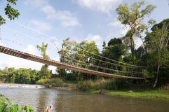веревочка моста Стоковые Изображения RF