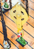Веревочка на блоках Стоковое Изображение
