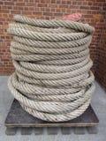Веревочка на паллете Стоковое фото RF