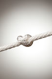 веревочка нейлона узла Стоковое Изображение