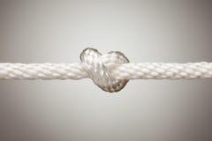 веревочка нейлона узла Стоковая Фотография RF