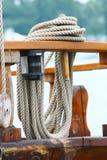 веревочка палубы Стоковое Изображение RF