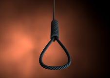 Веревочка петли Hangmans Стоковые Фотографии RF