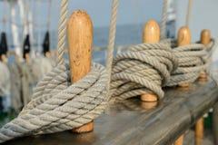 Веревочка плавание-шлюпки Стоковые Фотографии RF