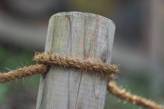 Веревочка поляка с тимберсом Стоковые Фотографии RF