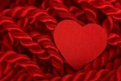 веревочка сердца стоковое изображение rf