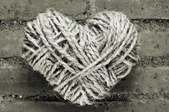 веревочка сердца Стоковые Изображения