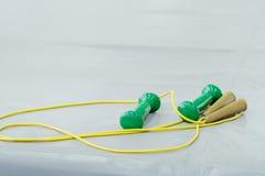 Веревочка скачки Стоковая Фотография