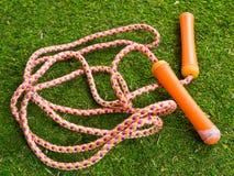 веревочка скачки s игр детей Стоковая Фотография