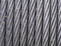 Веревочка стального провода стоковое изображение