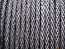 Веревочка стального провода стоковое фото