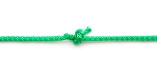 Веревочка с морским узлом Стоковые Изображения