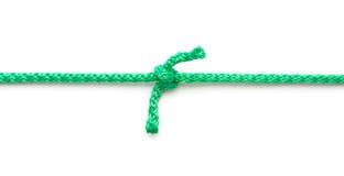 Веревочка с морским узлом Стоковая Фотография RF