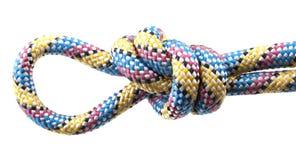 Веревочка с узлом Стоковые Фото