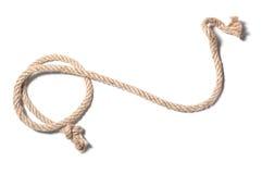Веревочка с узлом Стоковое Изображение