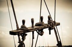 веревочка такелажирования Стоковые Фото