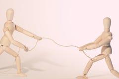 веревочка тяги Стоковая Фотография
