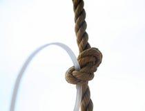 веревочка узла Стоковое Фото