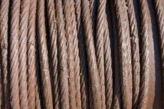 Веревочка утюга Стоковое фото RF