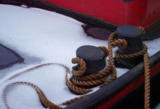 Веревочка шлюпки Стоковые Фото