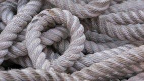 Веревочка шлюпки Стоковая Фотография