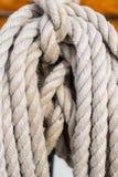 Веревочка шлюпки Стоковые Изображения