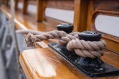 Веревочка шлюпки Стоковая Фотография RF