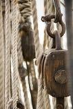веревочка 2 шкивов Стоковое Фото
