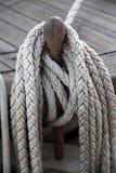 веревочка belaying штыря Стоковое Изображение