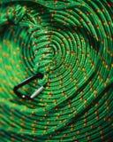 веревочка caribiner Стоковое Фото