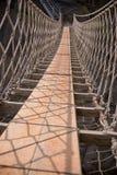 веревочка rede Ирландии carrick моста известная северная стоковое изображение rf