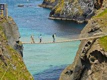 веревочка rede carrick моста Стоковое Фото