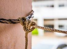 Веревочка tied2 Стоковые Изображения RF