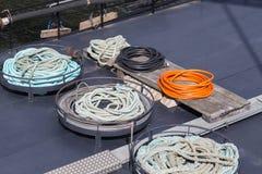 Веревочки и кабели Стоковые Изображения RF