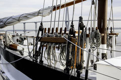 Веревочки парусника Стоковое Изображение RF