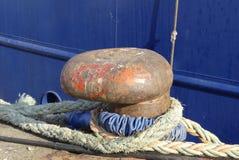Веревочки пала и зачаливания Стоковое Изображение RF