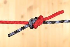 2 веревочки с 2 узлами Стоковая Фотография RF