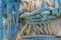 Веревочки с узлом Стоковые Фото