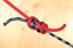2 веревочки с узлом Стоковая Фотография RF