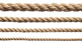веревочки установили различной Стоковая Фотография