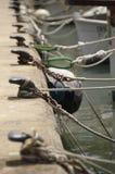 Веревочки шлюпки Стоковое Изображение RF